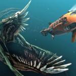 Monstro marinho gigante ataca submarino no mar Ártico
