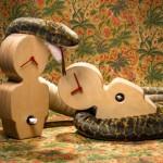 O pecado original no design: relógios cuco de parede Adão & Eva