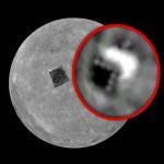 Uma pirâmide, um OVNI ou uma base no lado escuro da Lua?