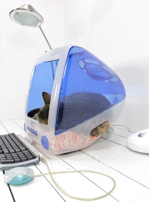 iMac da Apple reciclado como iCat