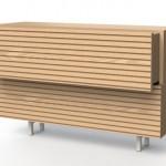 Clean Stripes – tendência para cômodas de linhas limpas e simples