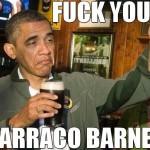 Barack Obama vira meme ao ser confundido com Barraco Barner