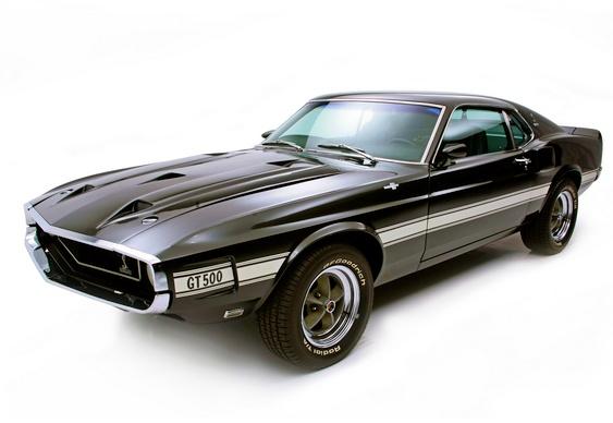Carro Mustang Shelby preto