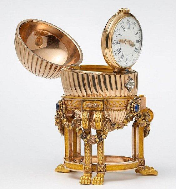 Ovo de ouro Fabergé