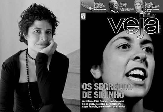 Silvia Viana e Revista Veja