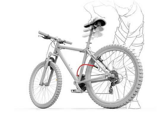 Bomba para pneus de bikes