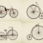 200 anos de evolução da bicicleta em um minuto de animação