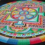 Mandalas tibetanas de areia mostram que nada dura para sempre