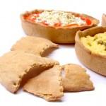 Quentinha de pão substitui pratos e embalagens descartáveis