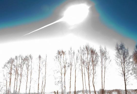 Meteorito caiu na Rússia