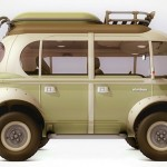 Nimbus é o cúmulo! Carro meio 'kombi steampunk' super moderno