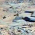 Sepultura com cruz é encontrada em cemitério de Marte