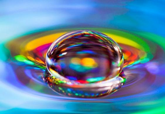 Efeito de lentes macro