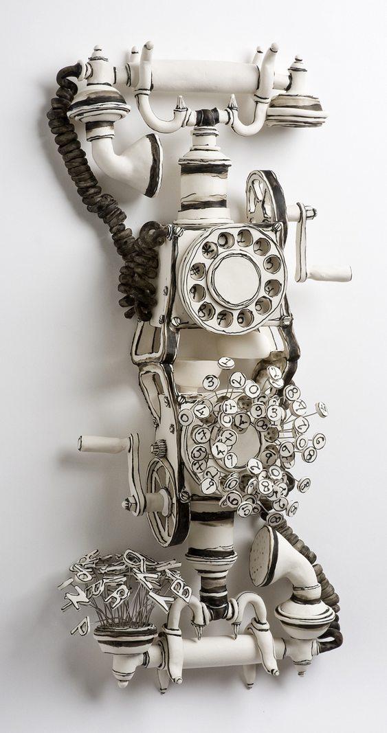Telefone antigo de discar