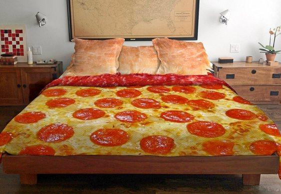 Edredom pizza pepperoni