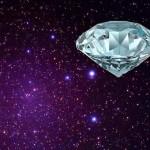 Descoberta estrela de diamante com o mesmo tamanho da Terra