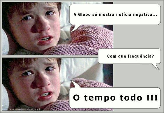 Globo em campanha contra a Copa