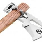 Novo machado de titânio desmontável com ferramentas multiuso