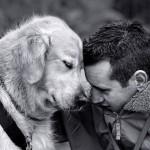 Em papéis invertidos cães adotam pessoas solitárias e abandonadas