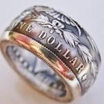 Como fazer anéis e alianças com moedas antigas ou estrangeiras