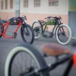 Bicicletas elétricas OtoR com visual retrô das motos centenárias