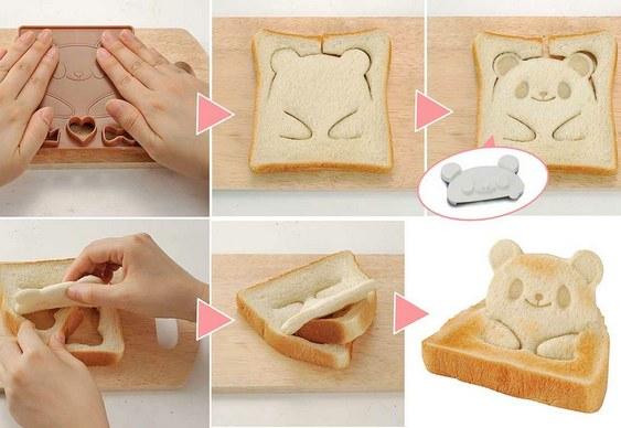 Passo-a-passo nas tostadas