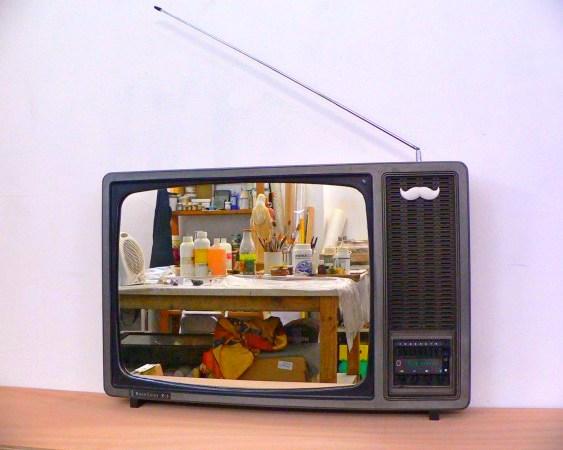 Reciclagem de aparelho de TV
