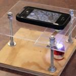 Como fazer um microscópio artesanal com um smartphone