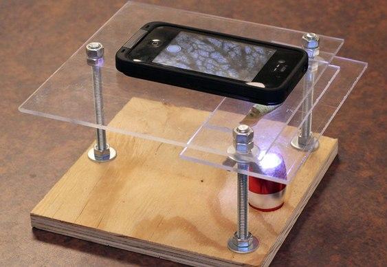Smartphone microscópico
