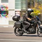 As novas motos elétricas silenciosas para uso policial e militar