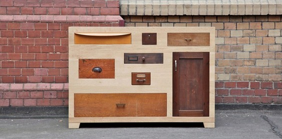 Reciclagem de móveis antigos