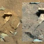 As estranhas pedras com aspecto de ossos fossilizados em Marte