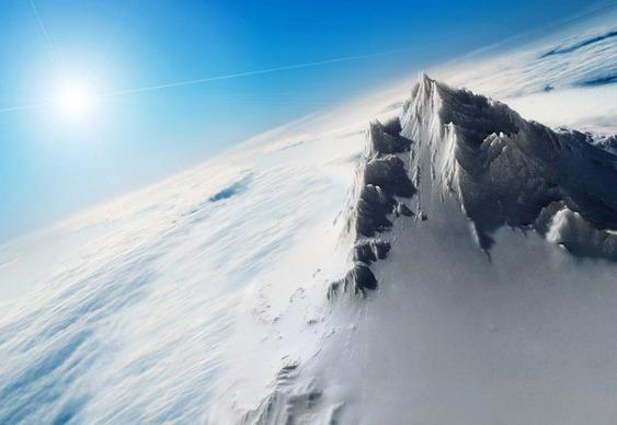 Rota de subida ao topo do mundo