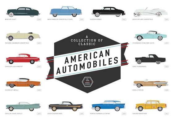Wallpaper com carros clássicos