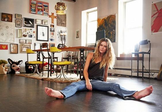 Modelo Erin Wasson