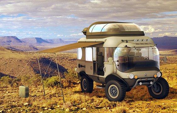 Carro de expedição para amadores e profissionais