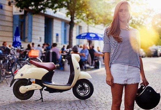 Scooter bonita