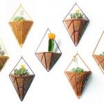 Aramados pendentes como vasos para plantas ornamentais