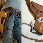 Pochete volta à moda como cartucheira para cowboys urbanos