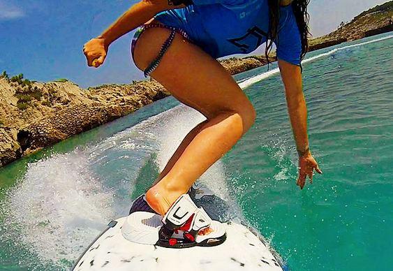 Pranchas de surf com motor