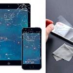 Detone o visual do celular com adesivo protetor de telas rachado