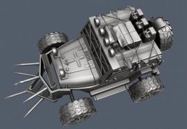 Projeto de carro 3D