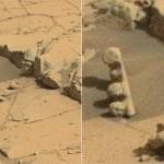 Acendeu a luz amarela! Jipe encontra semáforo em Marte