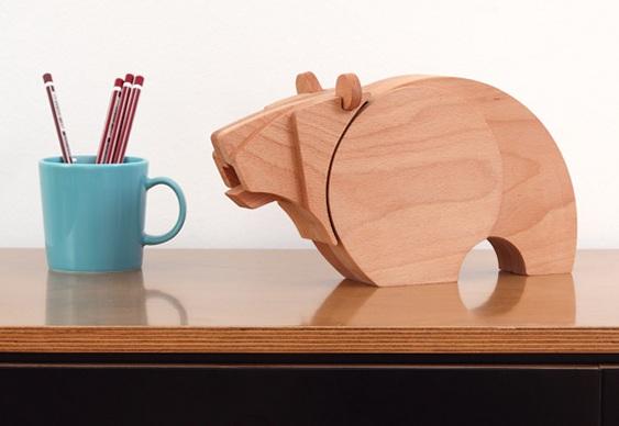 Mastodontes de madeira