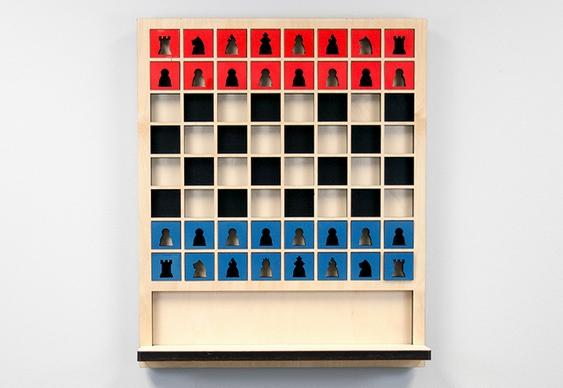 Como fazer jogo de xadrez vertical
