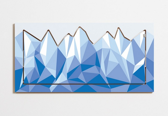 Grafismos de montanhas