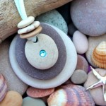 Como furar pedras roladas de rio e mar para fazer bijuterias