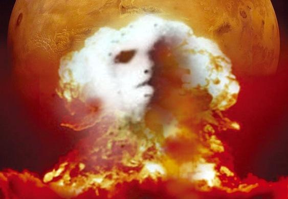 Explosões nucleares marcianas