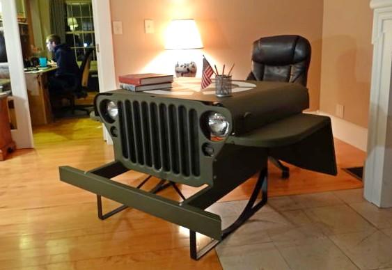 Decoração com Jeep Willys