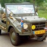 Uma versão militar restaurada do jipe Candango DKW-Vemag